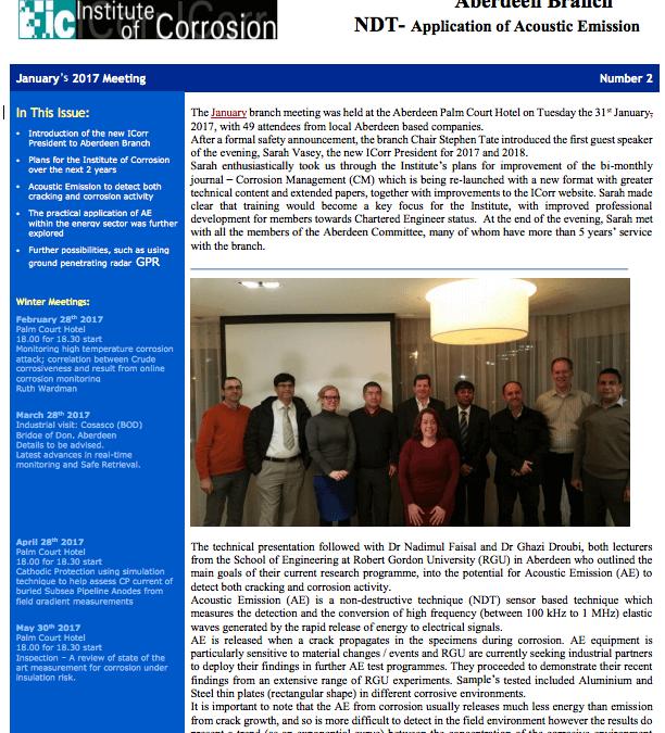 January No 2 Newsletter