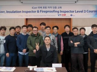 IMechE ETS recently delivered ICorr certification courses in South Korea