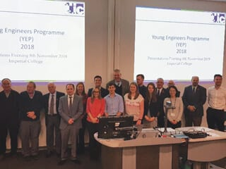 The YEP delegates and mentors.
