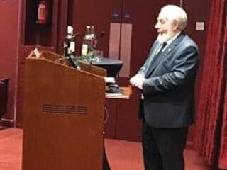 John O'Shea introducing the evening.