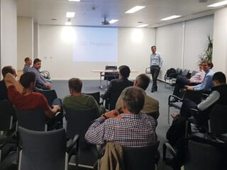 The September meeting was very well attended and hosted by Amey, at their Birmingham offices.
