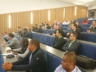 The well attended Special Coatings Event at RGU in February.