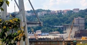 Morandi Bridge Corrosion causes collapse