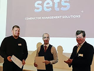 Branch chair, Stephen Tate, closes the event with Certificates of Appreciation to Roy Milne (Vice Chair of EI – Energy Institute and Chris Tierney, Managing Director of SETS.