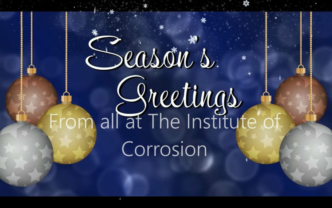 Season's Greetings to One and All from ICorr