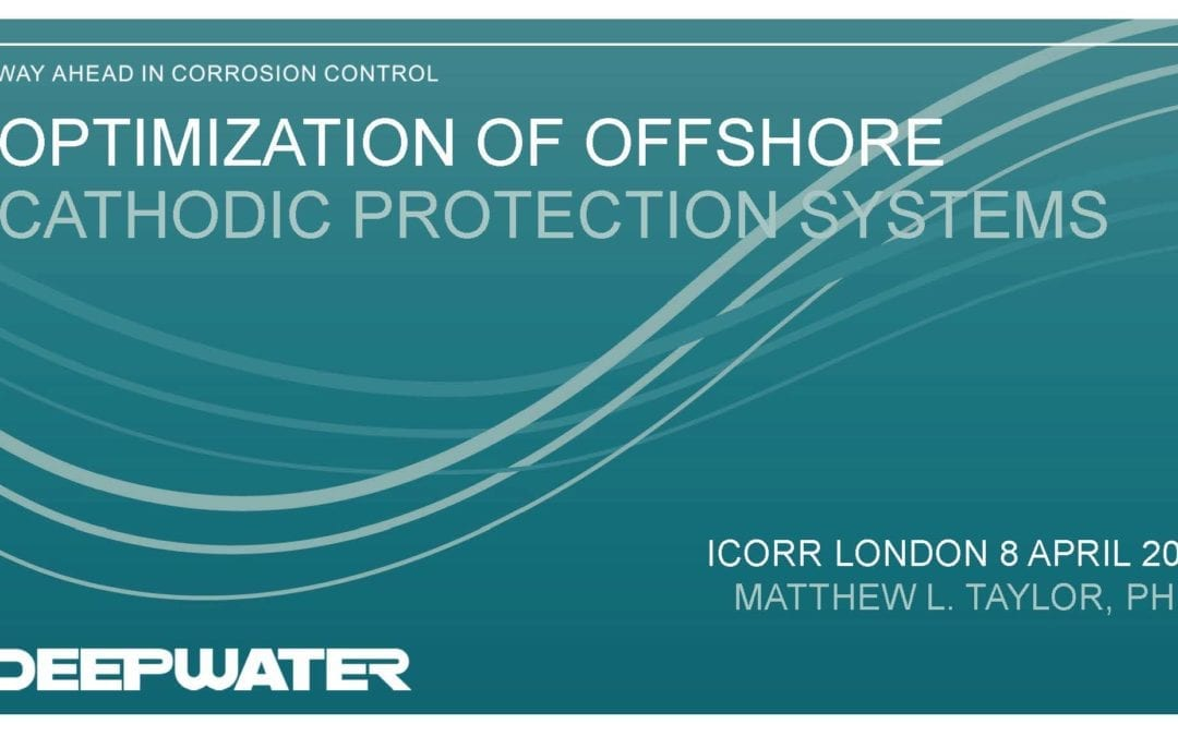 London Branch – Optimizing impressed current cathodic protection (ICCP) anode sled locations for offshore jacket structure retrofits